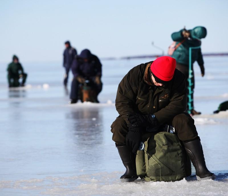 Atteson ice fishing