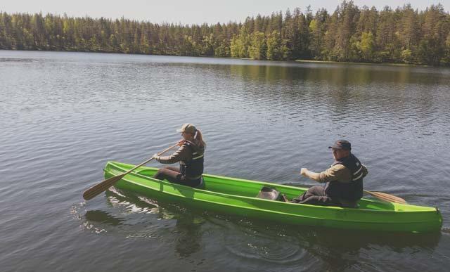 Canoe rental in Oulu and Rokua