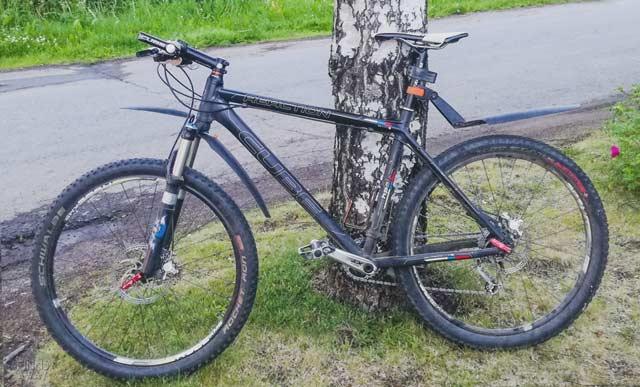 Mountain bike rental for men in Rokua
