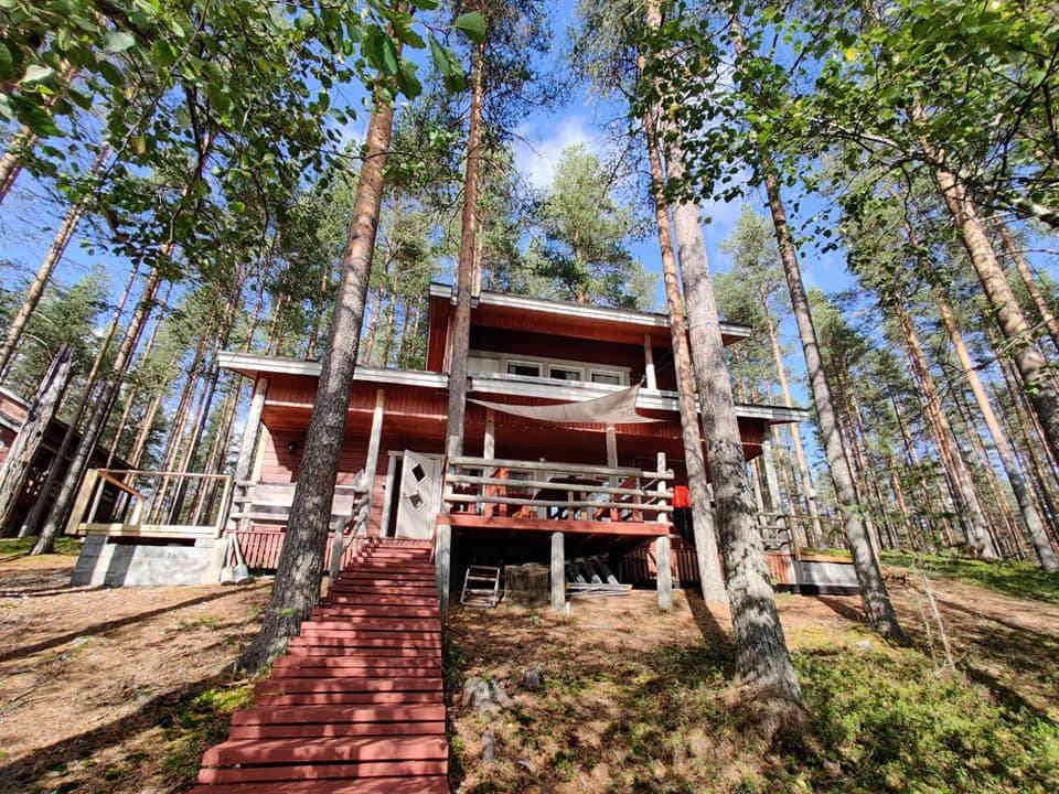 Vuokramökki Rokua - Kirvesjärven Simpukka